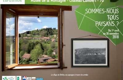 Château-Lambert : Exposition
