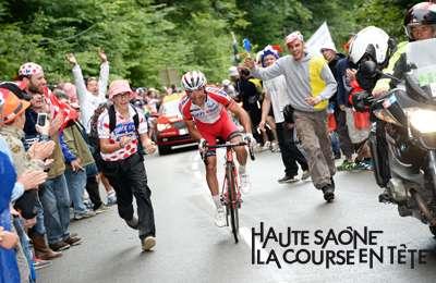 La Planche des Belles Filles : arrivée de la 5e étape du Tour de France