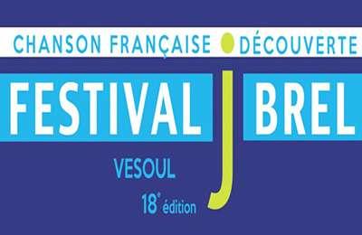 Vesoul : Festival Jacques Brel 2018