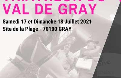 Tri Val de Gray - 21ème édition du triathlon du Val de Gray