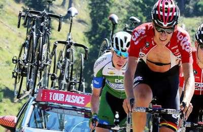 Vesoul : Tour cycliste Alsace