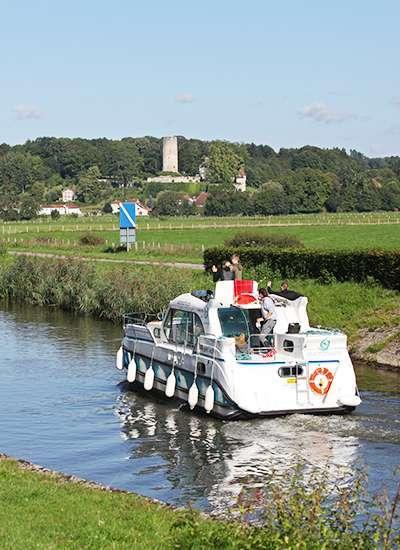 Capitaine sur la Saône