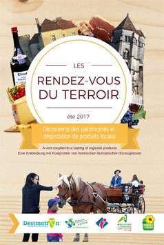 Les rendez-vous du terroir - Eté 2017