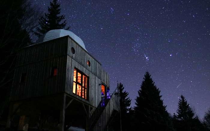 Dormir dans les étoiles